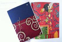 Notebook Oriental Mood / Quaderni fatti a Mano - Handmade