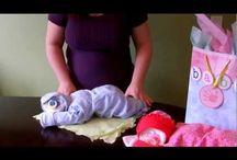 Подарки для новорожденных своими руками / Как красиво упаковать подарки для деток от 0 -1 года