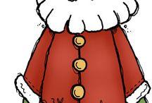 Santa clip art