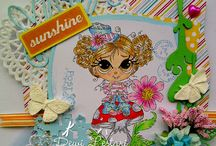 Lacy Sunshine Creations / My creations for Lacy Sunshine Stamps