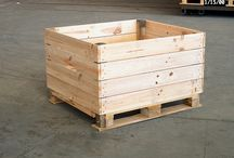 Pallet Storage Boxes / Pallets Ideas, Designs, DIY, Recycled, Upcycled Pallet Plans And Projects.