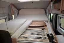 van drop down bed