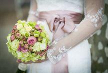 Zöld, krém, púder rózsaszín esküvő / Green, cream, powder pink wedding Balatonfüred