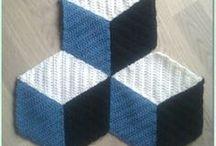 Crochet squares ( blankets)