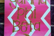 gamma phi / by Julia Falco