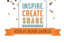 2014 Stampin' Up! Convention Display Stampers / This is a collection of projects made by display stampers for Stampin' Up's 2014 Convention.