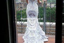 omg the back!! @Marianne Glass Nadolsky  mermaid wedding dress mermaid wedding dress
