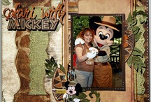 Africa scrapbook page ideas / by Beth Brinks