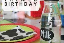 Animal farm birthday party