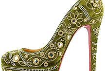Zapatos y medias