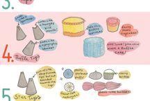 decoracion de pasteles y cup cakes tips