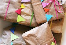 pakowanie prezentów | gift wrapping / Pomysły, inspiracje i instrukcje na pięknie zapakowane prezenty.