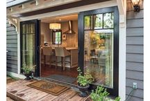 Backyard double doors