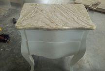 Antique furniture in Java'Indonesia