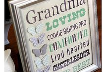 For the grandparents / by Chrystie Michaela