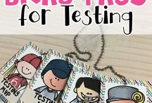 Testing Motivation / Test prep and motivation for intermediate classrooms