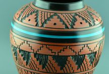 Native American Indian Pottery / Native American Indian Pottery, Handmade, Dishes, Art, etc.