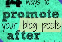 Promoting blogs and pages