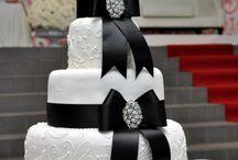 Black & White Wedding / Schwarz-Weiß Hochzeit