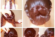 hairstyles / by Lisa McCranie