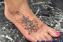 tattoo voet
