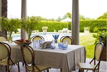 Deck, Porch & Patio Designs / Deck arrangements, deck furniture, outdoor living space, patio furniture, porch furniture, outdoor decor