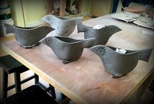 keramika vtáci