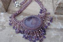 My work / šité šperky