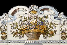 Viúva Lamego - Portugalské obklady a dlažby / Ručně malované obklady.   Elegantní , stylové , perfektně propracované. Dýchající historií.