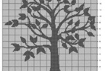 Trær/blomster