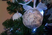Patchwork Vianoce / Vianočná výzdoba handmade