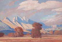 Jacob Hendrik Pierneef SA / South African Artist (1886-1957)