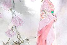 فستان  صيني