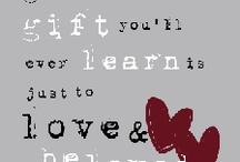 Favorite words / by Melinda Kelley