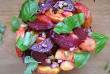 salads / Greens & pastas & hot & cold--summer salads and winter ones too--Lets not forget FRUIT ones also. / by Kathy B
