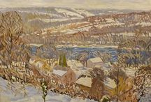 Léonard Gilbert, artiste-peintre / Léonard Gilbert est un artiste peintre québécois né en 1942 Léonard Gilbert is a Quebec artist born in 1942