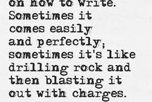 Writing / by Cassandra Jones