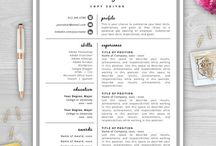 Resume & CV Designs