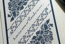 """Stamp:Floral Phrases / Handmade cards using the stamp set """"Floral Phrases"""" by Stampin' Up."""
