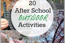 Outdoor Learning For Kids / Educational Learning Activities and Play for Kids Outside