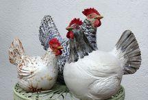 Керамические птицы
