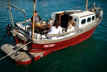 llaüt Picard / Here we show you the llaüt Picard, a lovely boat you that can rent in Formentera