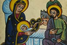 kristen konst, äldre, miniatyrer, ikoner, etiopisk, egyptisk, engelsk mm