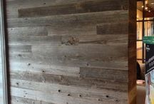 Grey Barnwood Accent Walls