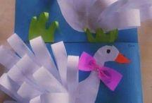 zvířátka z papíru