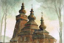 Cerkwie (Orthodox churches)
