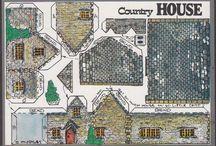 ländliche Häuser