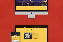 WebDesign Inspiration / Discover awesome themes and site templates from all over the web! / by Pixelosaur
