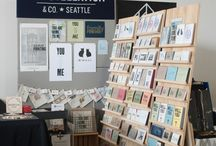 Craft Booth: Book Display
