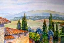 Landscape Paintings / My Watercolor Landscapes / by Carol Gangemi